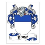 Dewar Family Crest Small Poster