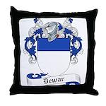 Dewar Family Crest Throw Pillow