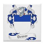 Dewar Family Crest Tile Coaster