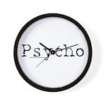 Psycho Wall Clock