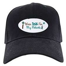 I Wear Teal For My Patients 12 Baseball Hat