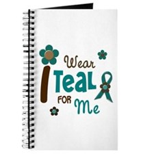 I Wear Teal For ME 12 Journal