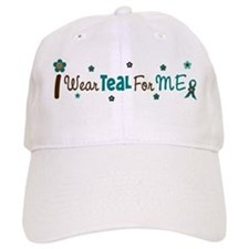 I Wear Teal For ME 12 Baseball Cap