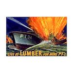 Give Us Lumber Mini Poster Print