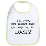 Daddy is Lucky Bib