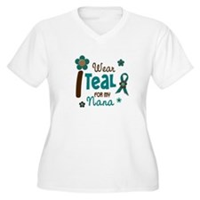 I Wear Teal For My Nana 12 T-Shirt