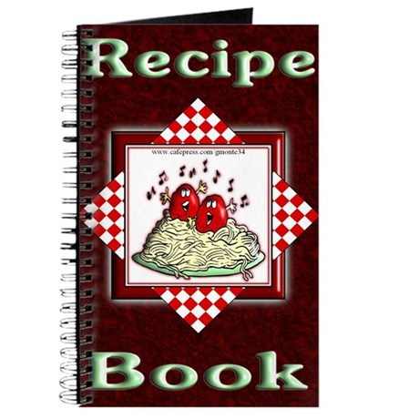 Singing Meatballs Blank Recipe Book