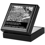 Salvador Allende's Last Words Keepsake Box