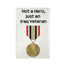 Not a Hero - Rectangle Magnet (100 pack)