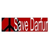 Save Darfur Bumper Bumper Sticker