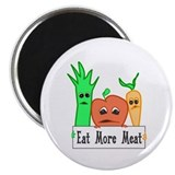 Eat More Meat Magnet