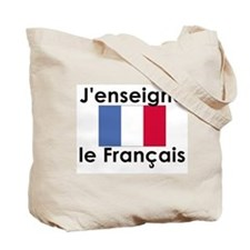 French teacher tote bag