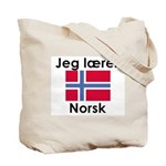 I teach Norwegian Tote Bag