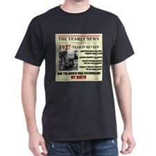 born in 1927 birthday gift T-Shirt