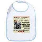 born in 1927 birthday gift Bib