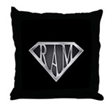 SuperRam(metal) Throw Pillow
