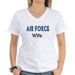 Air Force Wife Women's V-Neck T-Shirt