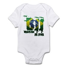 BBJ - Brazilian Jiu Jitsu Infant Bodysuit
