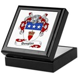Douglas Family Crest Keepsake Box