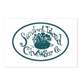 Sanibel Chowder Postcards (Package of 8)