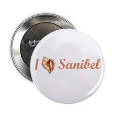 "I Heart Sanibel 2.25"" Button (10 pack)"