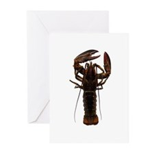 Live American Lobster Greeting Cards (Pk of 10)