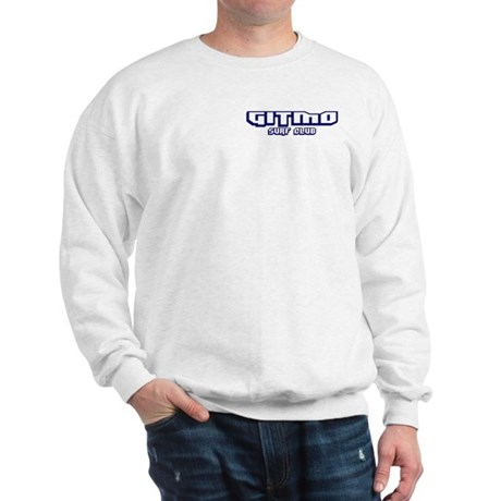 Gitmo Surf Club (Front/Back) Sweatshirt
