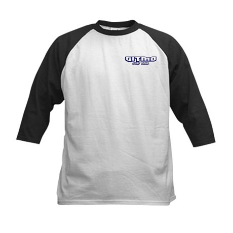 Gitmo Surf Club (Front/Back) Kids Baseball Jersey