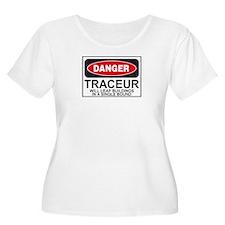 Traceur Parkour Danger Sign T-Shirt