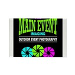 The Main Event Imaging Rectangle Magnet (100 pack)