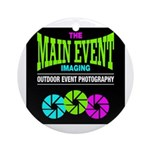 The Main Event Imaging Ornament (Round)