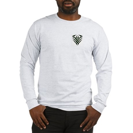 Tribal Pocket Badge Long Sleeve T-Shirt