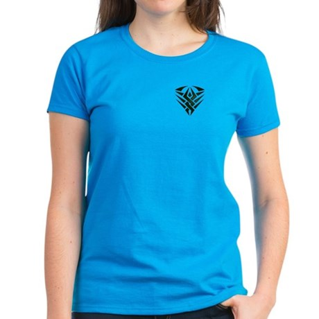 Tribal Pocket Badge Women's Dark T-Shirt