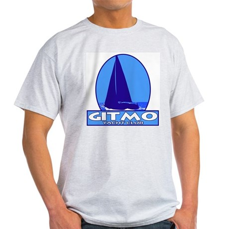 Gitmo Yacht Club Ash Grey T-Shirt