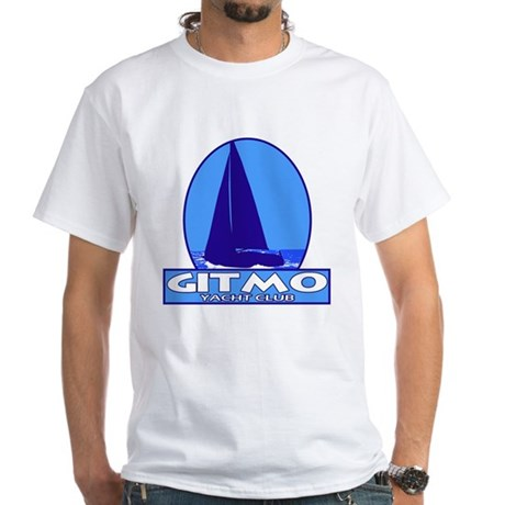 Gitmo Yacht Club White T-Shirt