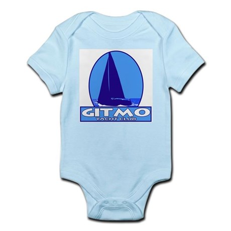 Gitmo Yacht Club Infant Creeper