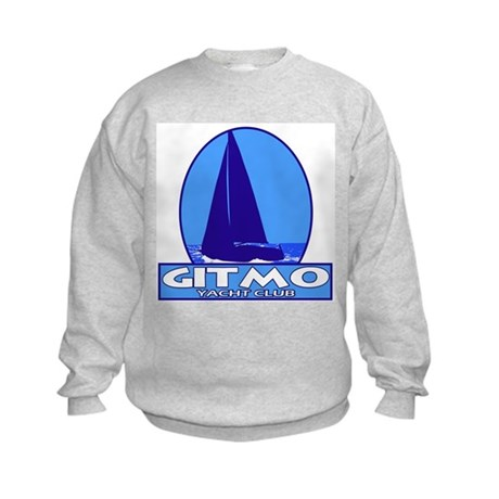 Gitmo Yacht Club Kids Sweatshirt