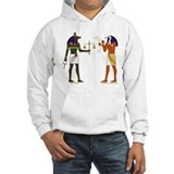 Anubis and Thoth Art Jumper Hoody
