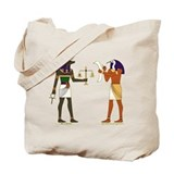Anubis and Thoth Art Tote Bag