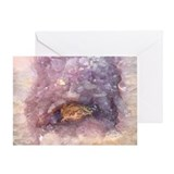 Amethyst Toad Greeting Card