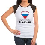 Happily Married Russian Women's Cap Sleeve T-Shirt