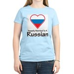 Happily Married Russian Women's Light T-Shirt