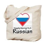 Happily Married Russian Tote Bag