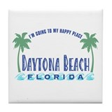Daytona Happy Place - Tile Coaster