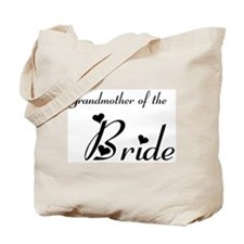 FR Grandma of the Bride's Tote Bag