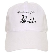 FR Grandma of the Bride's Baseball Cap