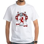 Dundas Family Crest White T-Shirt