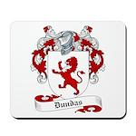 Dundas Family Crest Mousepad