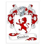 Dundas Family Crest Small Poster