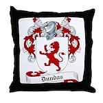 Dundas Family Crest Throw Pillow